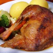 Gänsebraten to go im Restaurant Herr K